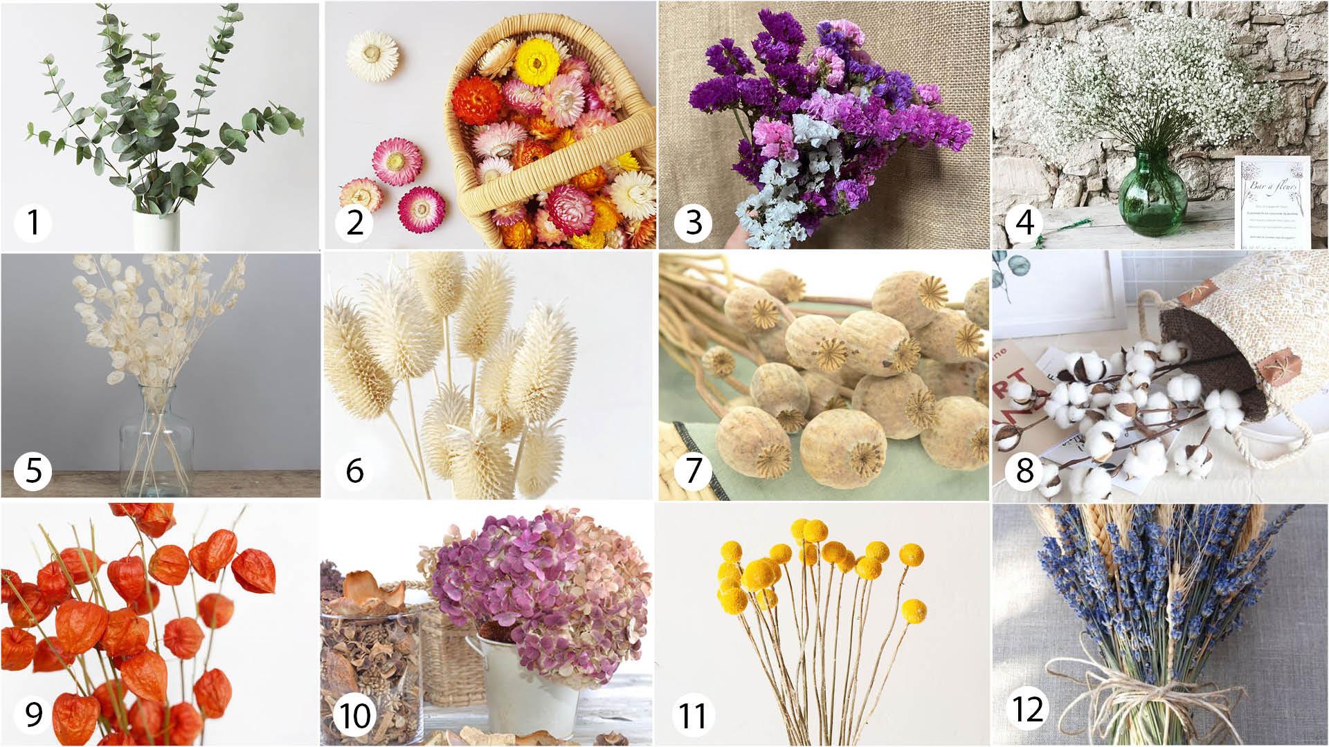 Compo fleurs séchées